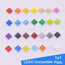 400 Short Bricks DIY Plastic Assembling Buidling Blocks Educational Learning Kids Toys Compatible With Lego Particles