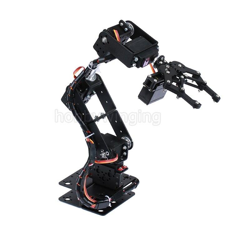 braco mecanico garra kit mg996r ds3115 para arduino educacao robotica 02
