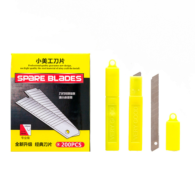 4Pcs/Set Art Knife Letter Openers Utility Knife Paper And Office Knife Diy Cutter Knife Stationery School Tools Paper Cutter