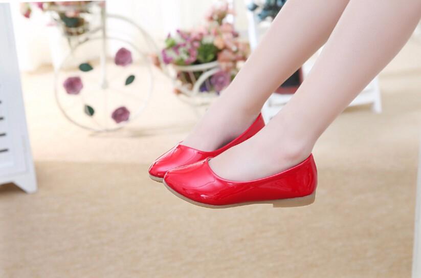 girl leather shoe-21