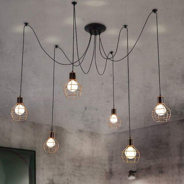 Online Shop Land personality kooi lichten + bulbs eetkamer ...