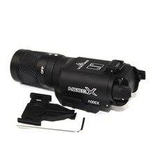 Hunting Tactical Model X300 X300V LED Output 500 Lumens Light Flashlight For Handgun Pistol Picatinny ht152