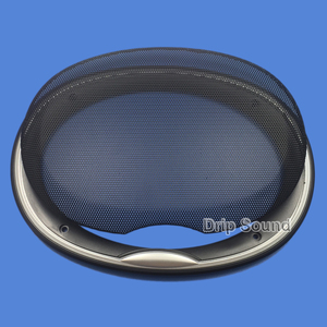 """Image 3 - For 6""""x9"""" 6x9 inch Speaker Grill Cover Car Audio Decorative Circle Metal Mesh Grille Protection"""