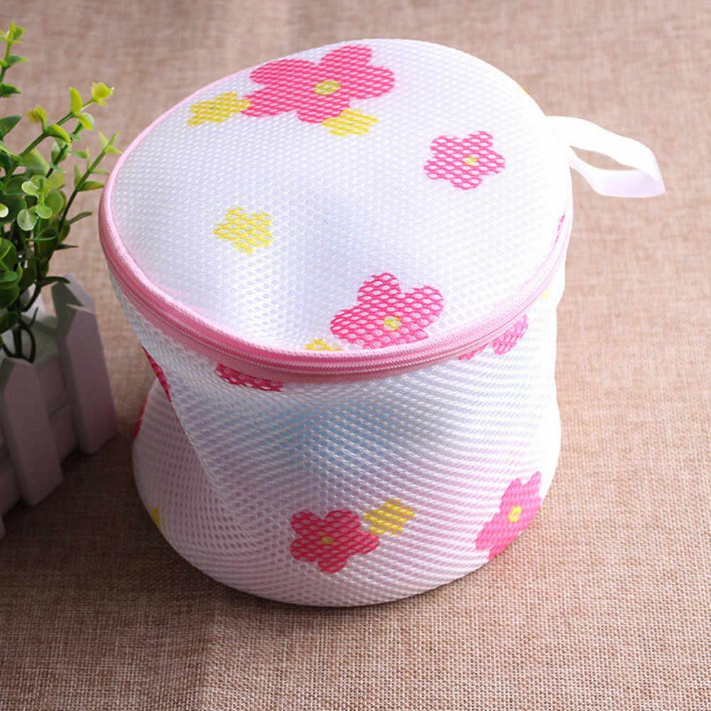Lingerie Washing Home Laundry Bags Bra Use Mesh Clothing Underwear  Organizer Washing Bag Random Color Organization Bags#23