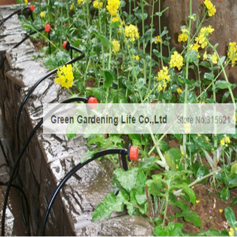 5M Timing Automatic Drip Irrigation System Home Garden Balcony .