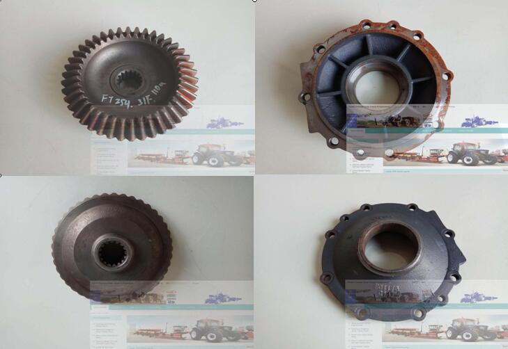 FT254.31F .110a FT254.31F.109c, set of big end gear with cover for Foton Lovol tractor FT254 ft304 31f 138 ft304 31f 131 the mid driving bevel gear and main bevel gear for foton lzt tractor ft304 454 lzt304 lzt454