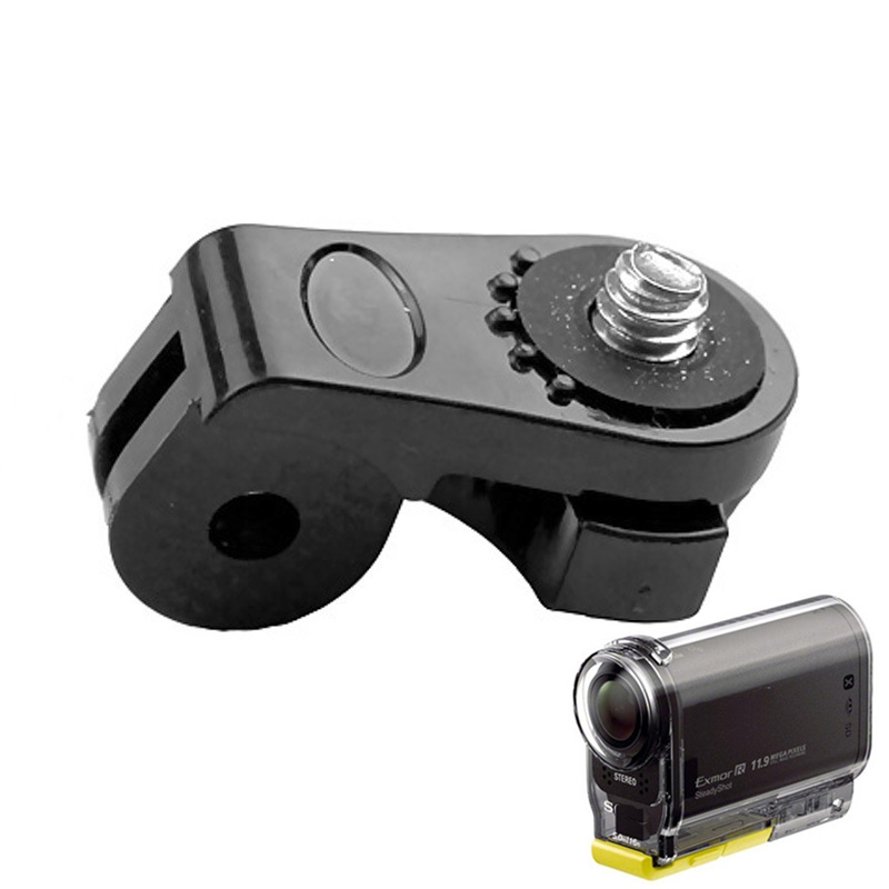 Camera Bridge Adapter For Gopro Mounts 1/4 Inch Screw Hole For Sony Mini Cam Action Camera HDR AS20 AS30V AS15V AS200V AS300