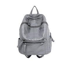 Год сбора винограда способа рюкзак 2017 новый стиль искусственная кожа сумка мужчин и женщин рюкзак школьный Колледж Ветер