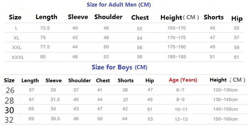 Buy Online Kids Team Apparel - Football Jersey Set