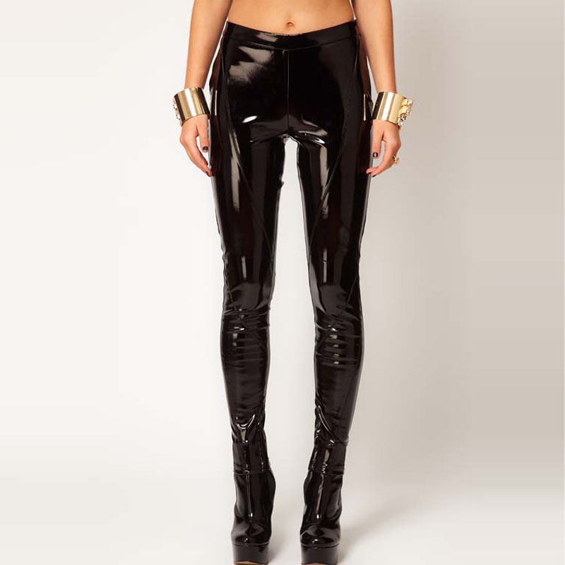 Patent Leather Leggings