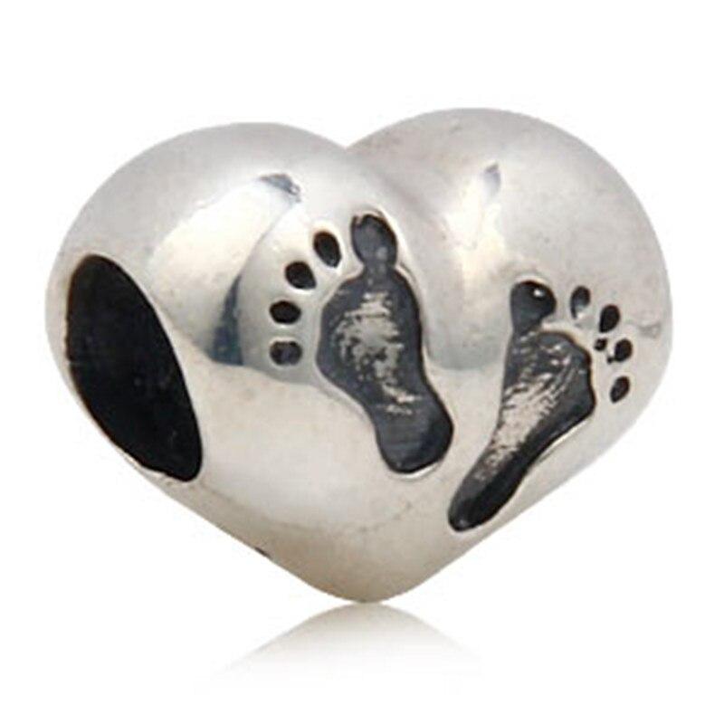 Pandora Footprint Charm
