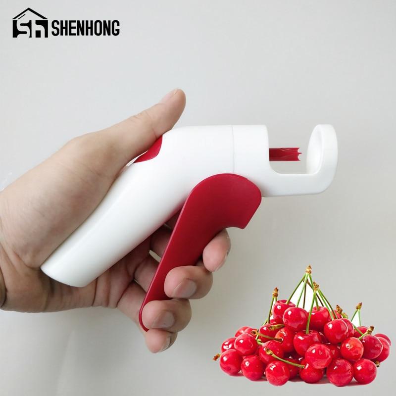 Schnelle Lieferung 1 Pcs Erdbeere Huller Metall Tomaten Stiele Kunststoff Obst Blatt Messer Stem Remover Gadget Erdbeere Hullers Mutter & Kinder Fütterung