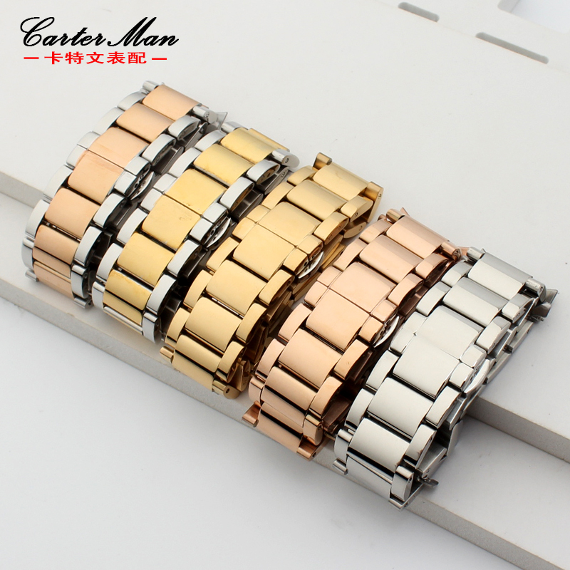 High quality arc end stainless steel watchband Wrist bracelet for L2 L4 steel strap for women men watch 12 14 16 18 20 22mm