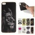 Coque silicone phone case para lenovo s90 floral do vintage tigre leão panda macio tpu tampa traseira para lenovo sisley s 90 s90t S90U