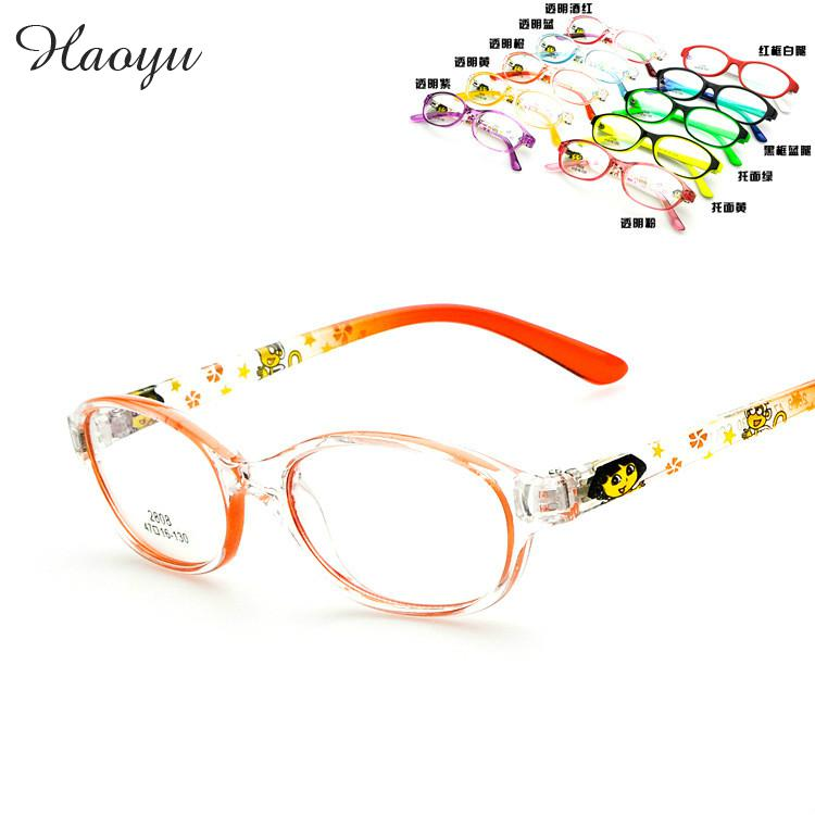 d2e673eacd8 haoyu 2016 Kids Child Girls plain glasses Children eyeglasses frame BOY  computer glasses optical .