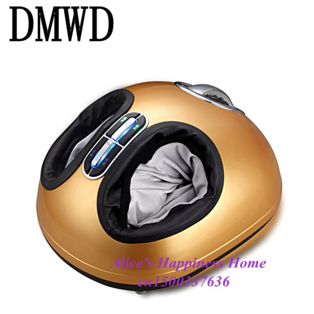 DMWD foot roller massager electric deluxe massage machine air pressure infrared feet relax appliances Health Care Reflexology electric foot massager foot massage machine for health care personal air pressure shiatsu infrared feet massager with heat 50030