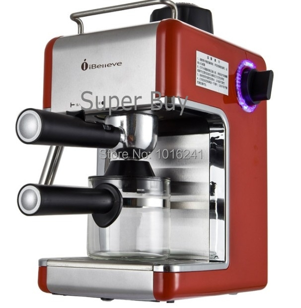 Italy espresso coffee making machine automatic coffee maker with cup-warming plate