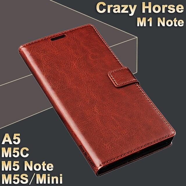 MeiZu M5 Note m 5 case leather MeiZu M1 Note case High quality case for MeiZu M5 mini/M5s flip leather M5 C Meizu M5C case A5