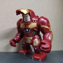 Sermoido Avengers 4 End Game Space 7cm Big Figures Iron Man Hulk Venom Action For Children Collection Toys Building Blocks