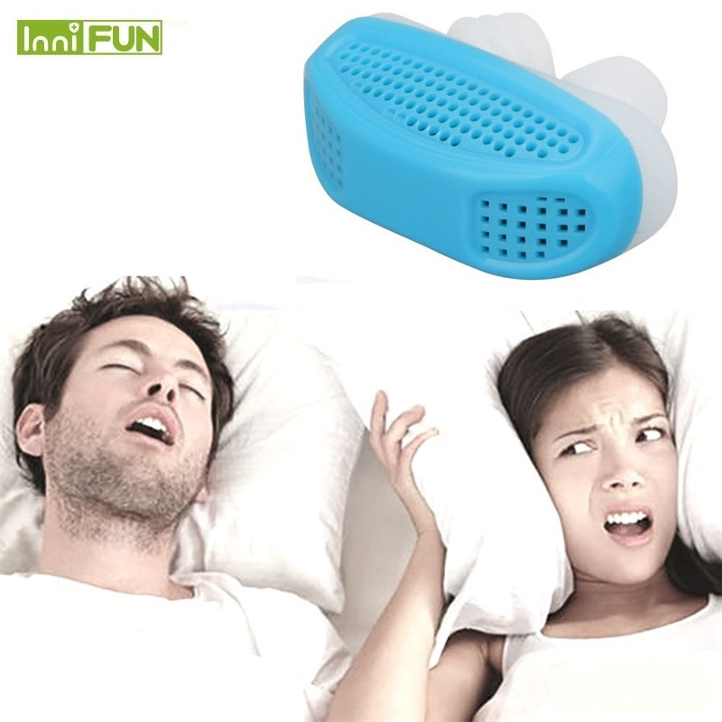 Relieve Snoring Nose Snore Stopping Breathing Apparatus Guard Sleeping Aid Mini Snoring Device Anti Snore Silicone