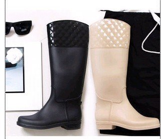Womens Fashion Rain Boots - Boot End