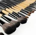 Free shipping  15 pcs/set makeup brushes pincel maquiagem make up tools kit make up brushesblending brush with leather bag