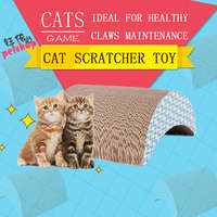 YUBEI Cat Scratcher Cardboard Toys Funning Pet Products Cat Toy Supplies Scratchers for Cat Toys Game Cats Accessories