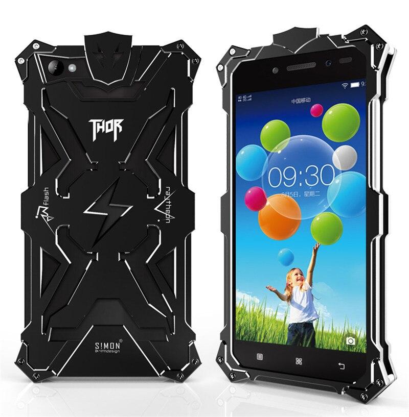 Lenovo S90 case Original Design Armor Heavy Dust Metal Aluminum THOR IRONMAN protect phone bags case