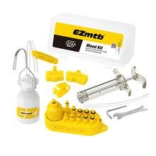 Велосипедная гидравлическая тормозная система, набор инструментов для Shimano, Tektro, Margura и серии дисковых тормозов, использование минерального масла тормоза SW0018