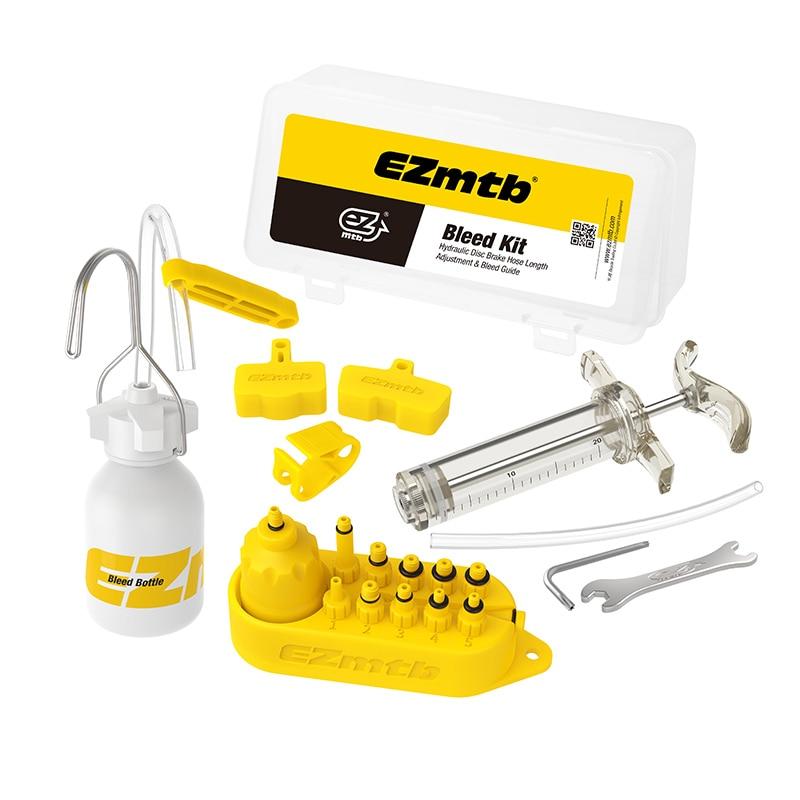 Bicicleta de freno hidráulico sangrar Kit de herramientas para linea-Tektro... margura y Series de sistema de freno de disco de uso de aceite Mineral de SW0018