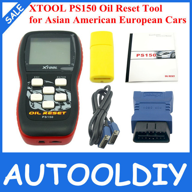 2014 Top Selling 100% Original XTOOL PS150 oil reset tool UPDATED IN OFFICIAL WEBSITE PS150 =X200 Oil Reset Tool Free Shipping