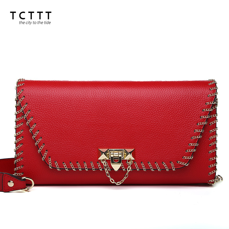 TCTTT Fashion Female genuine leather Messenger bag luxury designer women's shoulder crossbody bags ladies Clutch Totes Handbags luxury genuine leather bag fashion brand designer women handbag cowhide leather shoulder composite bag casual totes