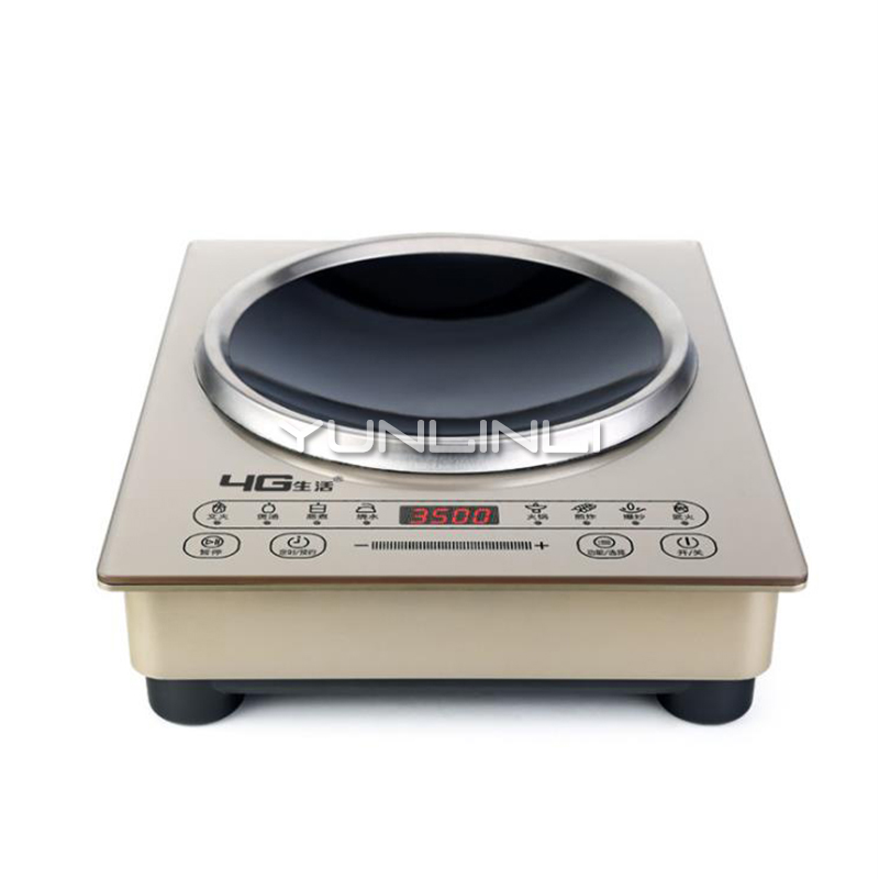 3500W Household Induction Cooker Commercial Induction Cooktop Desktop or Embedded Dual Use Induction Cooker