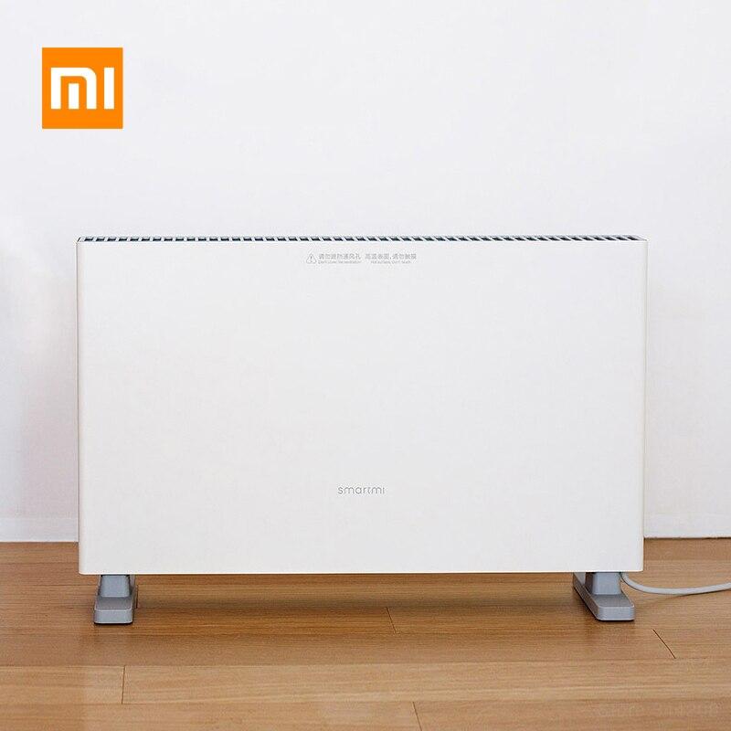 Smartmi Xiaomi Riscaldatori Elettrici per la casa Veloce Termoconvettore camino A Portata di mano fan parete Riscaldatore scaldino Radiatore risparmio energetico Silenzioso