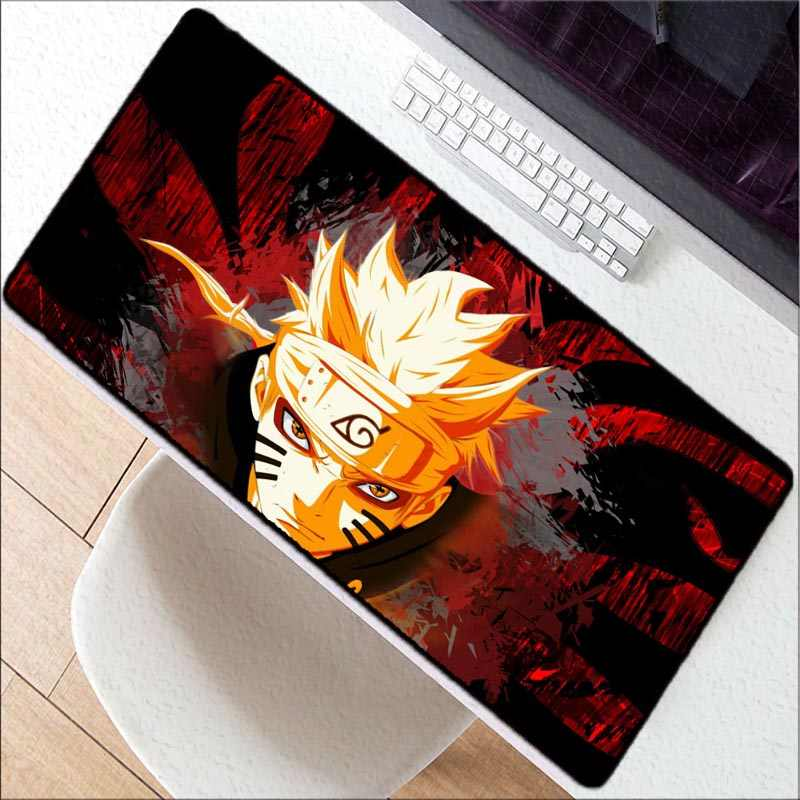 11427de943e45 ... Mairuige Anime Japan Naruto Print Locking Edge PC Computer Gaming Mouse  Pad XXL Rubber Mat for ...