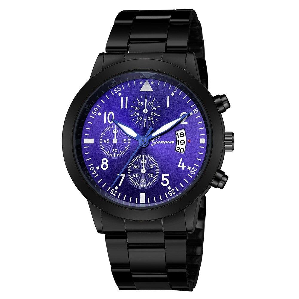 Men's And Women Watch Luxury Quartz WristWatch Sport Military High Quality Stainless Steel Strap Calendar Ladies Watch Clock #A