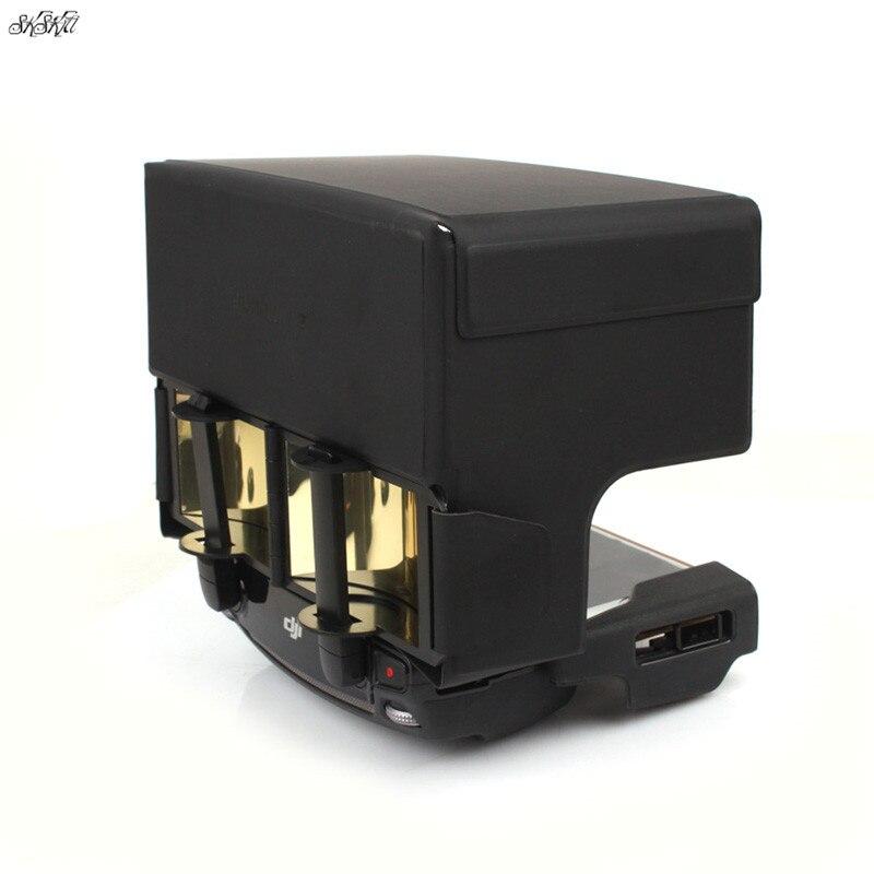 Capa para Dji Controle Remoto Sinal Antena Impulsionador Faixa Extensor & Sun Sombra Mavic Pro ar Faísca 2 Zoom Acessórios