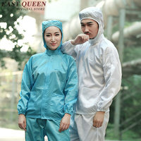 Lab coat white coated medical lab coat laboratory gown lab scrubs women long sleeves with hood KK100 W