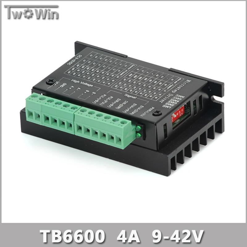 Buy Tb6600 4a 9 42v Stepper Motor Driver