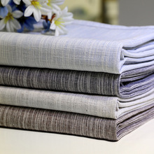 Japan Simplicity Style Tablecloth Yarn Dyed Solid Color Cotton Linen Rectangular Table cloth Washable Dust proof Tea Cover