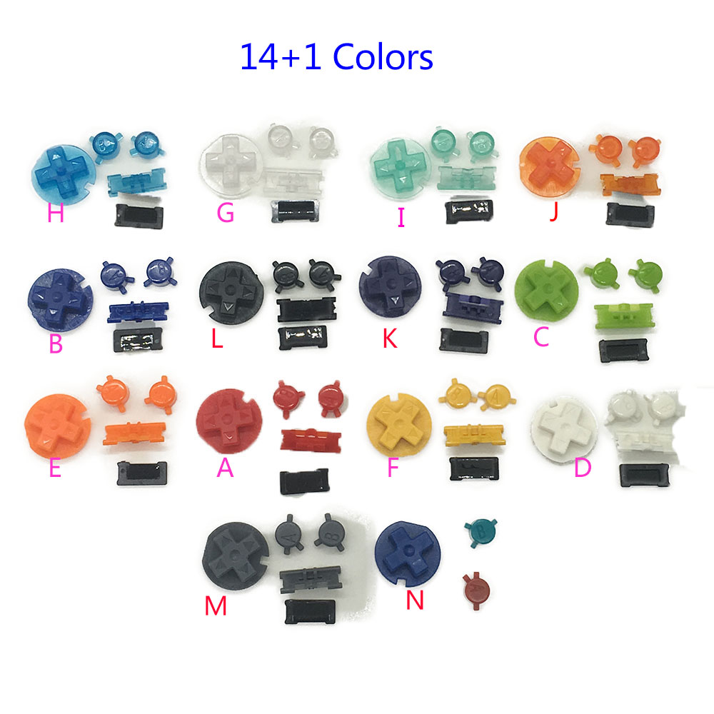 Game boy color online free - 10sets Plastic Power On Off Buttons Keypads For Gameboy Color Gbc Colorful Buttons For Gbc D