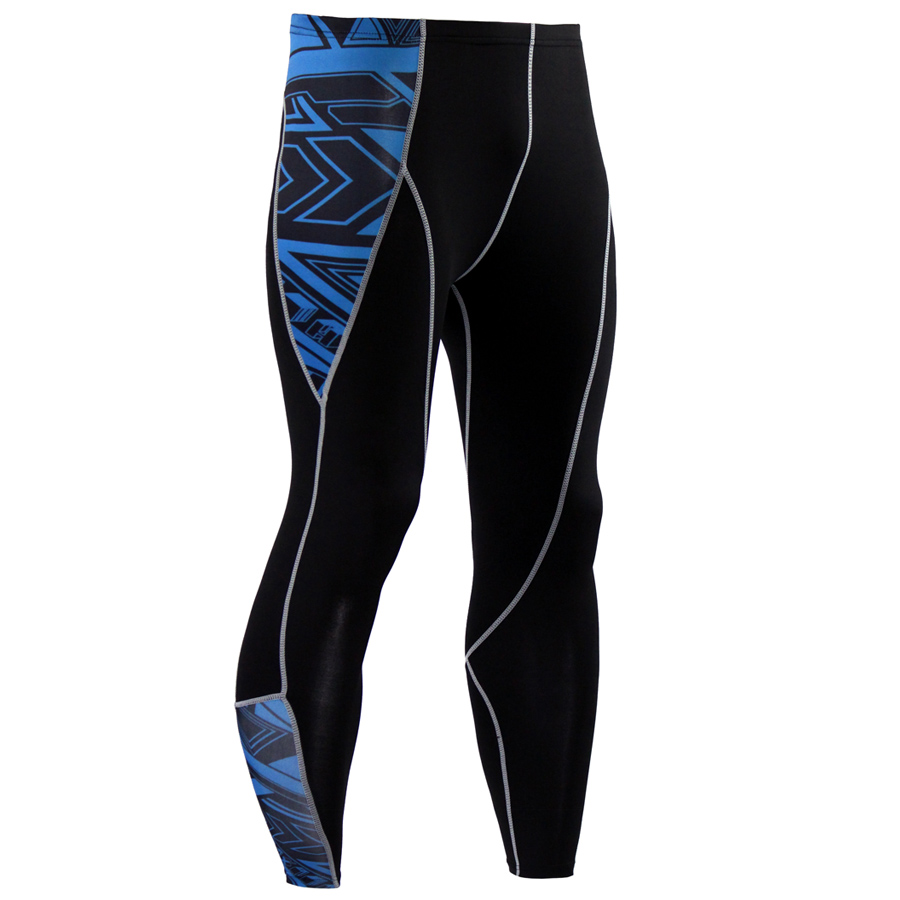 Mens Compression Pants Running Run Jogging Jogger Fitness Exercise Bodybuilding Gym Athletic Compression Tights Long Pants