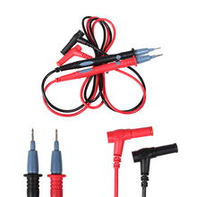 1 Pair 20A 1000V Universal Multimeter Probe Needle Tip Probe Test Leads Meter Cable for Digital Multimeter IC Component