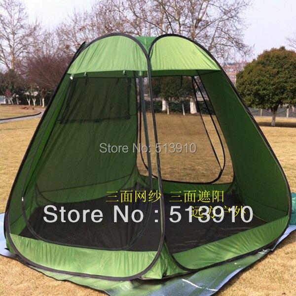 5-10 personnes grande tente de partie de pièce/POP UP tente/tente de jardin seulement la tente intérieure ont la coquille de maille de moustique