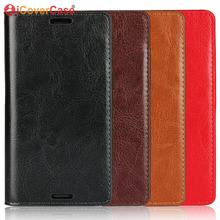 Flip Case For Sony Xperia Z3 Compact Cases Cover Genuine Leather Case Luxury Wallet Card Slots Book Coque Hoesjes Capinhas Etui(China)