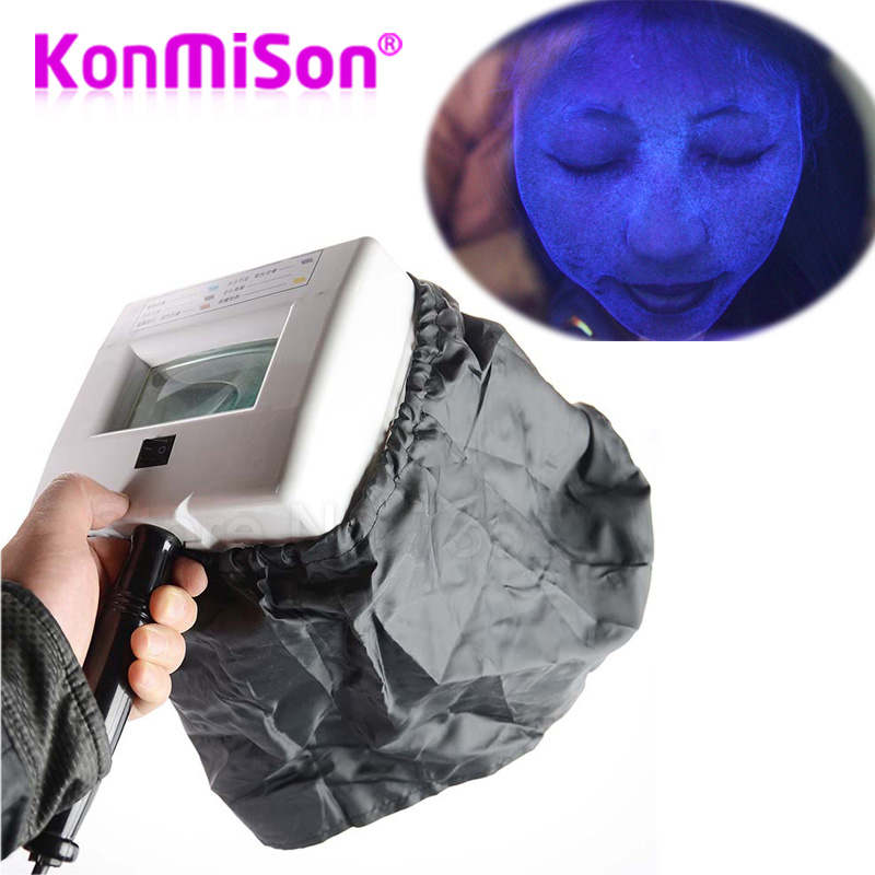 Portable Woods Lamp For Skin UV Magnifying Lamp For Beauty Facial Skin Analyzer Testing Wood Lamp
