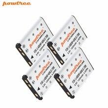 4Packs 1200mAh LI-42B Li-40B 40B NP-45 NP45 Battery For FUJIFI EN-EL10 DLI63 D-Li108 DLI108 NP-80 NP80 CNP80 KLIC-7006 K7006 L15