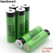 18650 3,7 v 3400 mah литиевая аккумуляторная батарея NCR18650B с заостренным носком(без PCB) для фонариков
