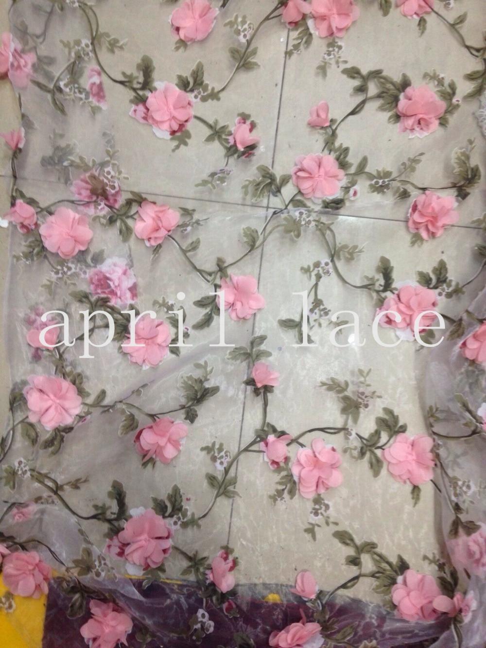 Aliexpress buy yards jy pink chiffon d rose