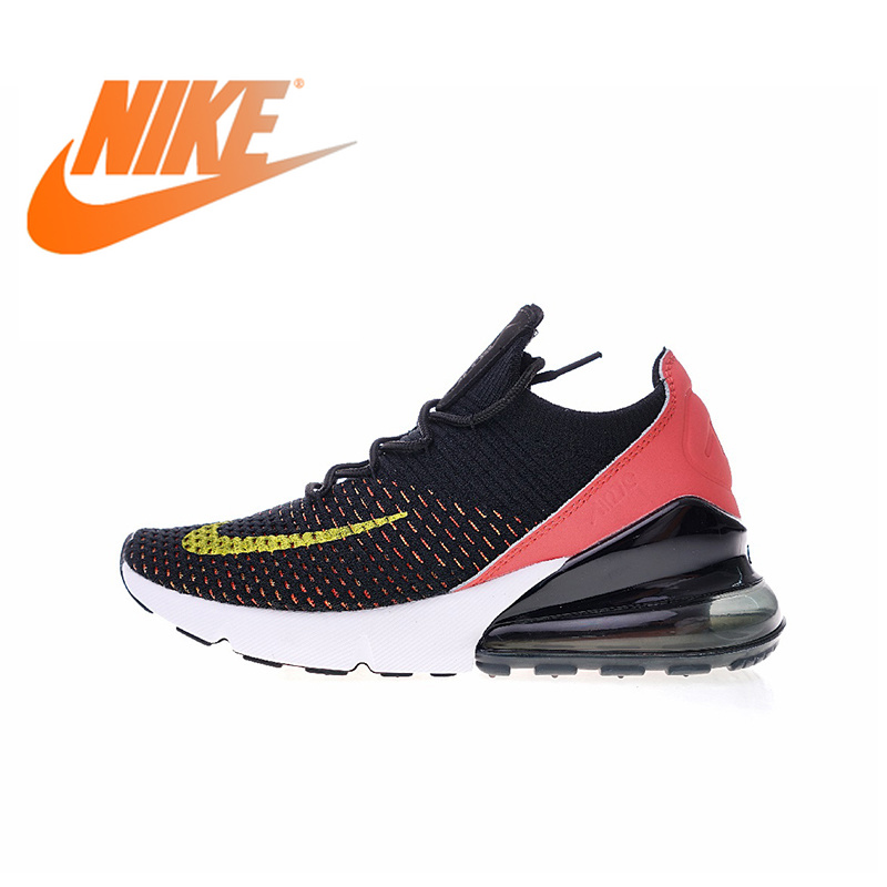 45a04f406776fe Original Authentic Nike Air Max 270 Flyknit Women s Running Shoes Sport  Outdoor Sneakers Breathable comfortable durable